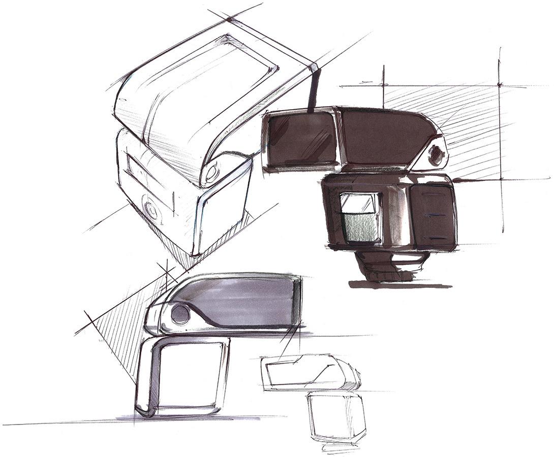 Coleo Showroom Metz Sketch